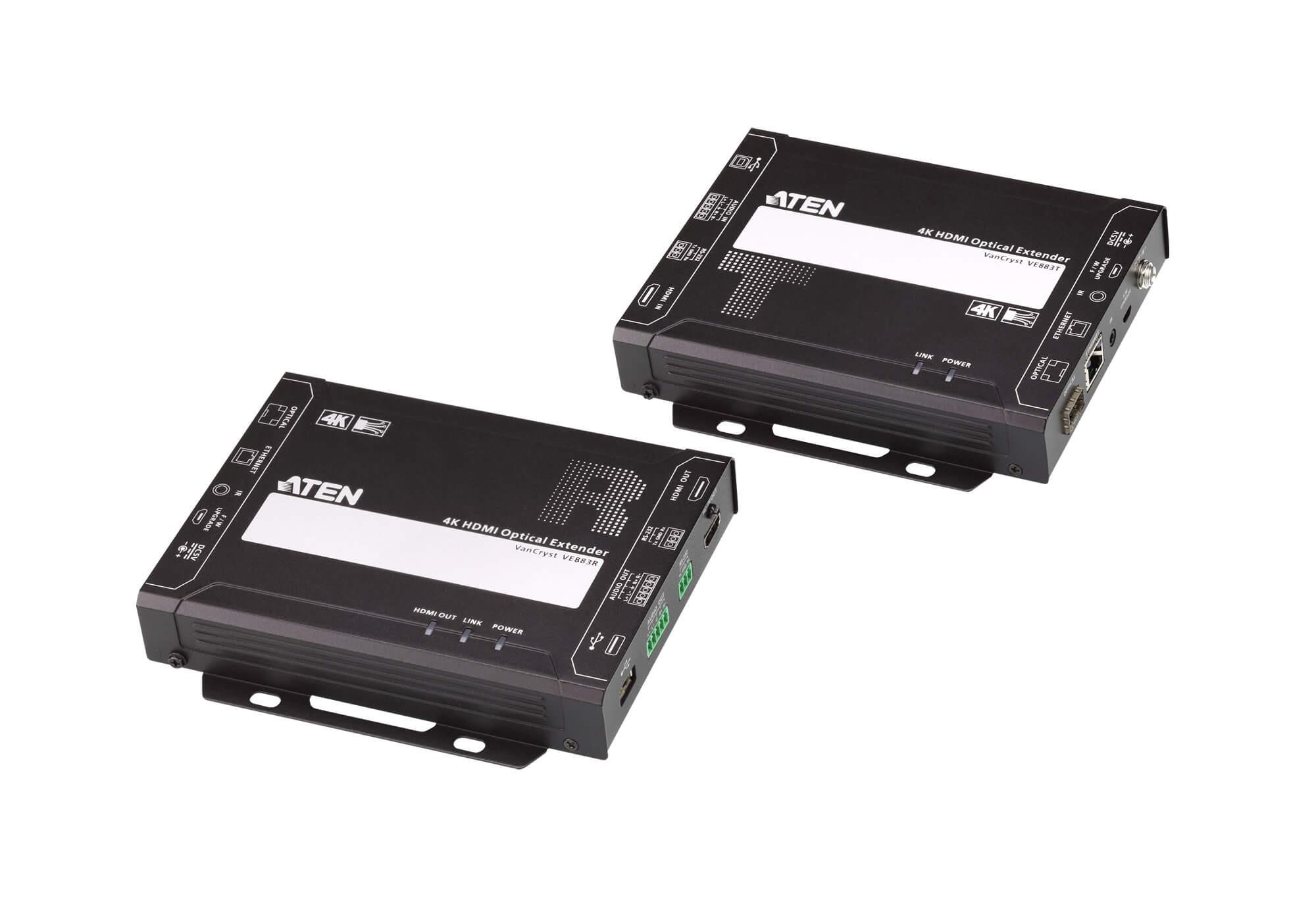 ATEN VE883K1 4K HDMI Optical Extender (W/300M SFP)