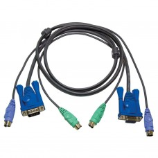 Aten 2L-5002P/C PS/2 KVM Cable 1.8m
