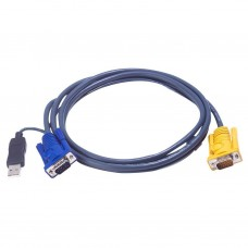 Aten 2L-5202UP USB KVM Cable 1.8m