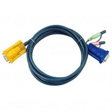 Aten 2L-5205A Audio/Video KVM Cable 5m