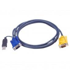 Aten 2L-5206UP USB KVM Cable 6m