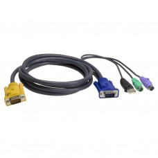 Aten 2L-5302UP PS/2 USB KVM Cable 1.8m