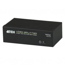 Aten VS0102 2-port VGA Splitter with Audio&RS-232