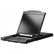 Aten CL5816N 16 Port 19 inch LCD KVMP Switch: Dual rail and Dual