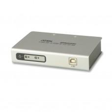 Aten UC4852 2-Port USB-to -Serial RS-422/485 Hub