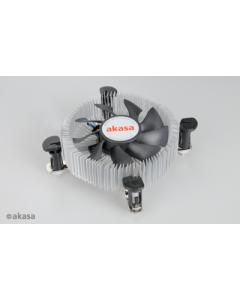 Akasa AK-CCE-7106HP Socket 775/1150/1155/1156 1U Cooler pushpin PWM