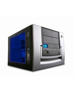 Apevia X-Qpack-AL Silver Micro ATX Cube / side window / 420W PSU