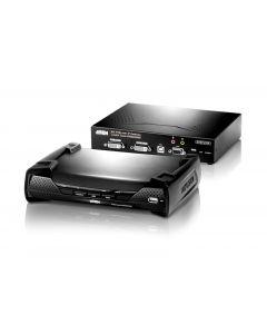 ATEN KE6940 USB DVI-I dual display KVM Over IP-uitbreiding