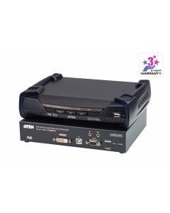 ATEN KE6912 2K DVI-D Dual Link KVM over IP-uitbreiding met PoE